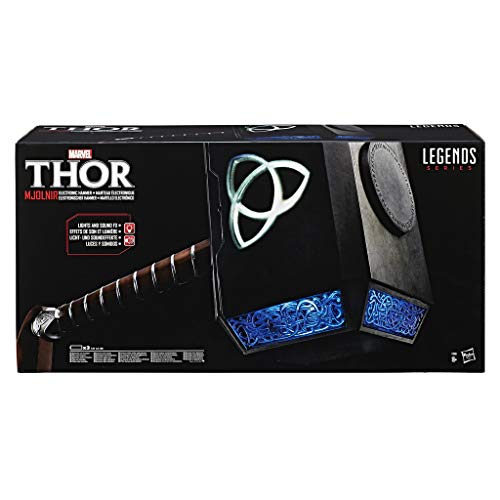 Hasbro Marvel C1881EU4 Thor Marvel Legends - Avengers Thorhammer, Premium-Edition, grau