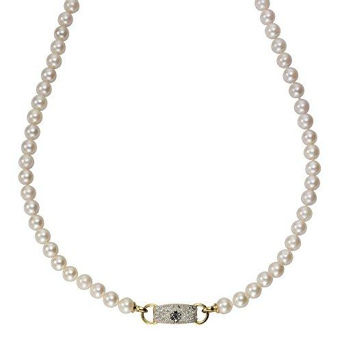Diamonds by Ellen K. Damen-Strang-Halskette 14_k_(585) Gelbgold Perle 360350025-1