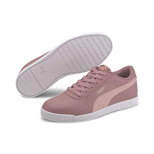PUMA Carina Slim SL, Zapatillas para Mujer, Gris (Foxglove/Peachskin), 41 EU
