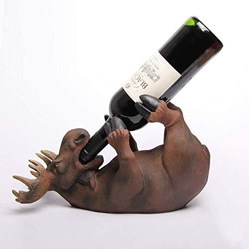 Scultura,Portabottiglie per Vino In Resina Espositore per Vino Espositore per La Casa Accessori per Artigianato per Interni
