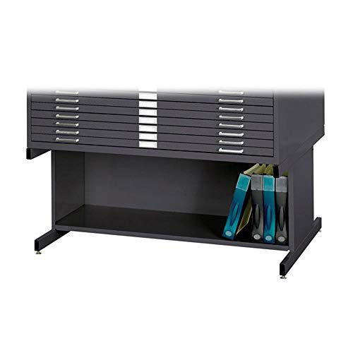 Safco Products Flat File High Base for 5-Drawer 4996BLR and 10-Drawer 4986BL Flat Files