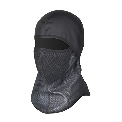 GUKOO Balaclava, Winter Dust Masks Ski Full Face Mask Cover Polyester Fleece Fit Helmet Hat for Women Men Youth Neck Warmer for Motorcycle Snowboard Cycling Balaclava Hood, 1 Piece