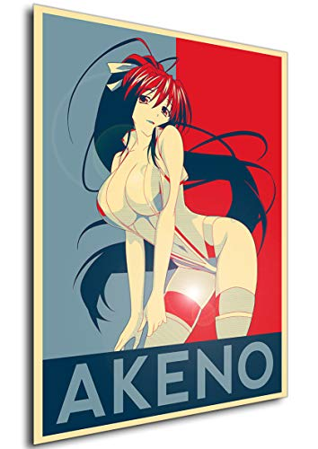 Instabuy Poster - Propaganda - Highschool DxD - Akeno Himejima Variant A3 42x30