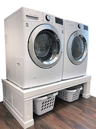 The Elevation Pedestal | Raises Your Washer & Dryer | Fits All Machines, Samsung, LG, GE, Whirlpool,