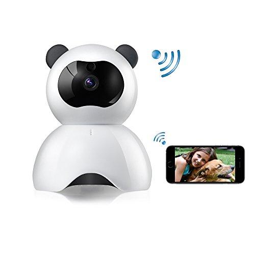 YAOAWE WiFi Camera FHD 1080P Hond IP Cam Draadloze Beveiligingscamera - WiFi Baby Camera - Huisdier Monitor Pan/Tilt met Bewegingsdetectie Video Recording-Twee-weg Audio Nachtzicht Voor Thuisbewaking