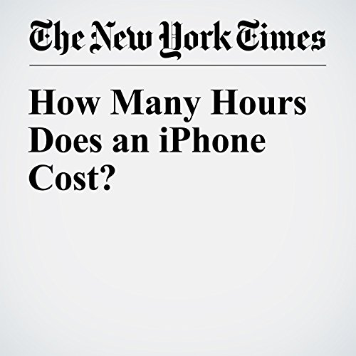 How Many Hours Does an iPhone Cost? cover art