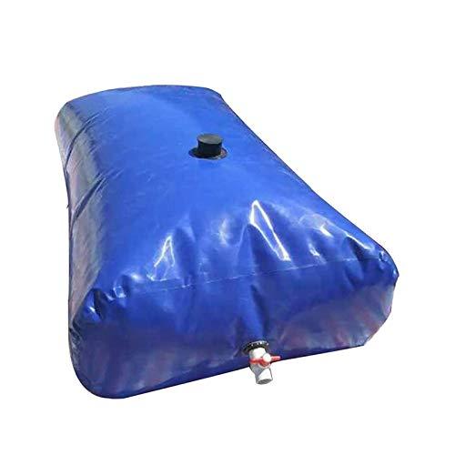 Contenedor de almacenamiento de agua flexible de gran capacidad, Bolsa de agua plegable al aire libre con grifo, Cubo de almacenamiento de agua de riego portátil de emergencia resistente a la sequía