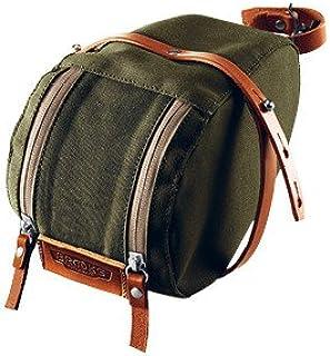 Brooks Isle of Wight Saddle Bag, Green/Honey, Medium
