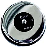Fenoplástica 909 Timbre, 250 V, Plata