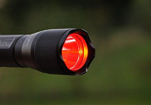 Maxenon Maxx 3 LED Reflektor rot
