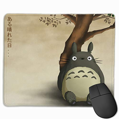 Studio Ghibli Custom Mouse Pad Anime Mouse Mat Home Office Computer Gaming Mousepad 9.8x12x0.12inch
