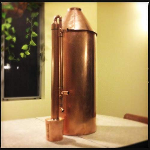 10 Gallon Copper Moonshine Still Kit. Made in the USA