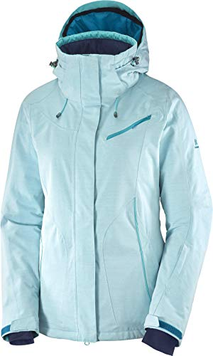 SALOMON Women's Fantasy Jkt W, Tile Blue, X-Small