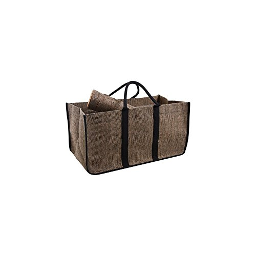 Aubry Gaspard - Bolsa para leña, yute plastificado, 65cm