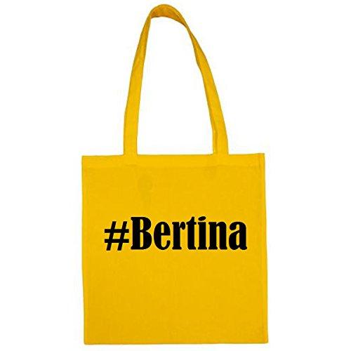 Tasche #Bertina Größe 38x42 Farbe Gelb...