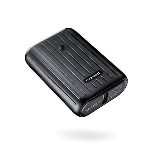 Charmast Mini Bateria Externa 10000mAh para Movil Powerbank...