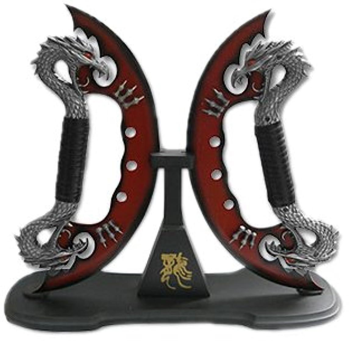 BladesUSA Hk-110 Fantasy Dragon Knife Display 24-Inch Overall