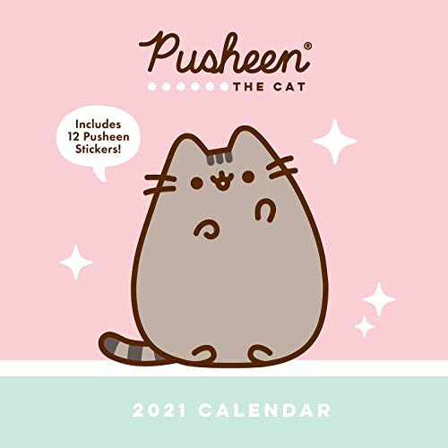 Pusheen 2021 Wall Calendar