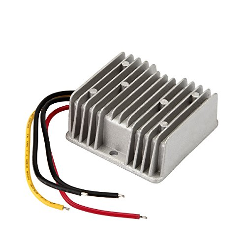 DC Voltage Converter Buck Converter 36V Step Down to 12V 10A 120W Waterproof Voltage Regulator for Golf Cart LED Strip Light Power Supply Transformer