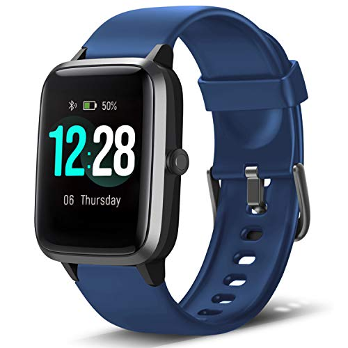 in budget affordable LETSCOM smartwatch, fitness tracker, heart rate monitor, calorie counter, sleep monitor, music …