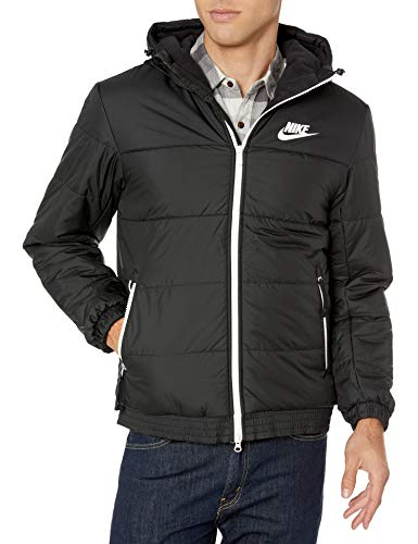 Nike Herren NSW Syn Fill Full Zip Veste Blazer, Schwarz (Black/Black/Black/Sail), Medium