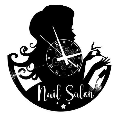 Instant Karma Clocks Orologio da Parete Unghie Nail Bellezza Salone Make Up, Estetista, Donna, Idea Regalo
