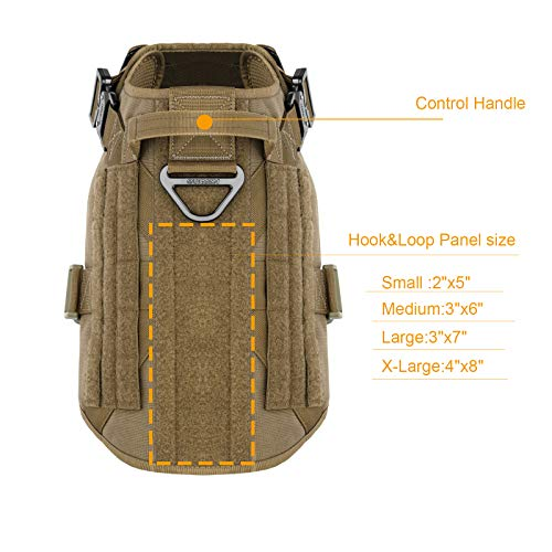 ICEFANG Tactical Dog Harness