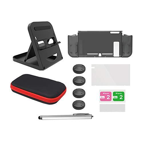 ORIYUKKI 6-in-1 Controller Aufbewahrung Tasche Controller Zubehör Kit Schutzhülle Set Bildschirms chutz Folie