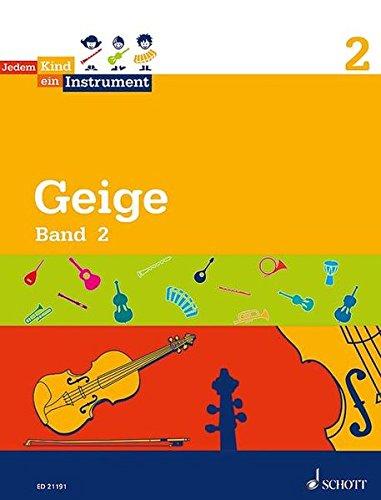 Jedem Kind ein Instrument: Band 2 - JeKi. Violine. Schülerheft.