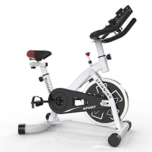 Tbaobei-Baby Indoor-Heimtrainer Haushalt Vertikal Heimtrainer for Innen-oder Indoor-Fahrrad-Übungs-Fahrrad-Family Training Aerobic (Color : White, Size : Free Size)