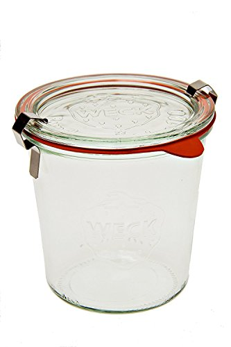 Weck 742 Mold Jar - .5 Liter, Set of 6