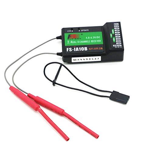 IFLYRC Flysky FS-iA10B Receiver 2.4Ghz 10CH Receiver PPM Output Compatible for Flysky FS-i6 FS-i6X FS-i10 TH9X GT3C IT4S Transmitter