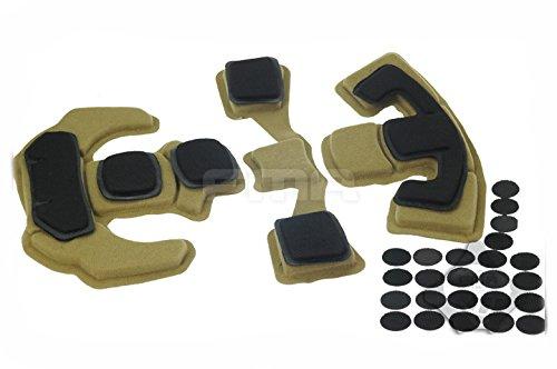 ATAIRSOFT Upgraded EXF Style Casque De Protection En Mousse Mémoire Coussin Confort Casque Tapis De Protection Pour Armée Militaire Airsoft Tactique