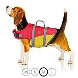 Giubbotto di salvataggio Bella & Balu per cani - Salvagente per cani riflettente per soccorso in mare (M)