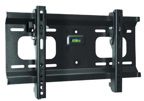"Black Adjustable Tilt/Tilting Wall Mount Bracket for Vizio E48-C2 48"" inch LED HDTV TV/Television"