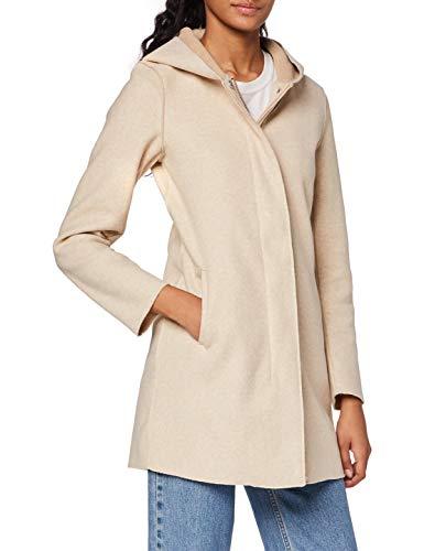 Only ONLSIRI Bonded Hood Coat CC OTW Abrigo, Nomad, M para Mujer
