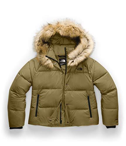 The North Face Deallo Down Crop Jacket British Khaki XL