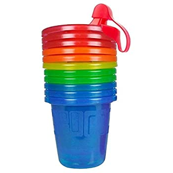 The First Years Take and Toss Spill-Proof Sippy Cup Assorted Pack of 6
