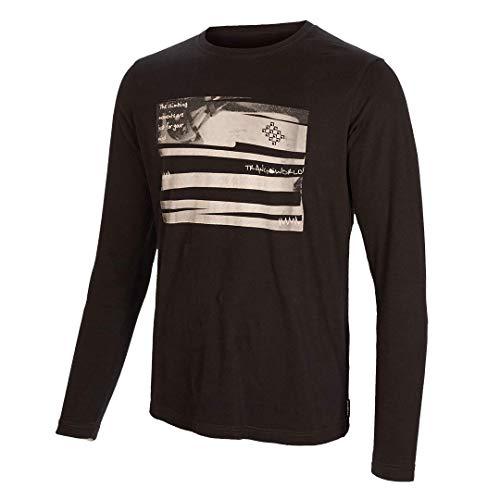 Trangoworld Book Camiseta, Hombre, Marron, S