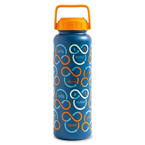 Disney Mickey Mouse Repeatables Stainless Steel Water Bottle