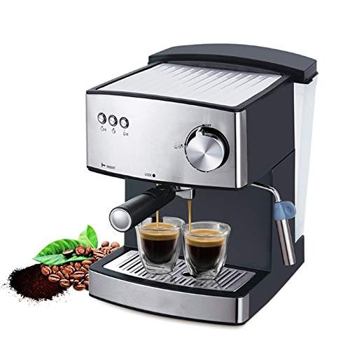 WXL Cafeteras manuales Máquina de café de café 1.6L Máquina de café eléctrica eléctrica Máquina de café eléctrica rápida Leche eléctrica Frecuencia de Cocina Aparato de Cocina 850W Cafetera de Filtro