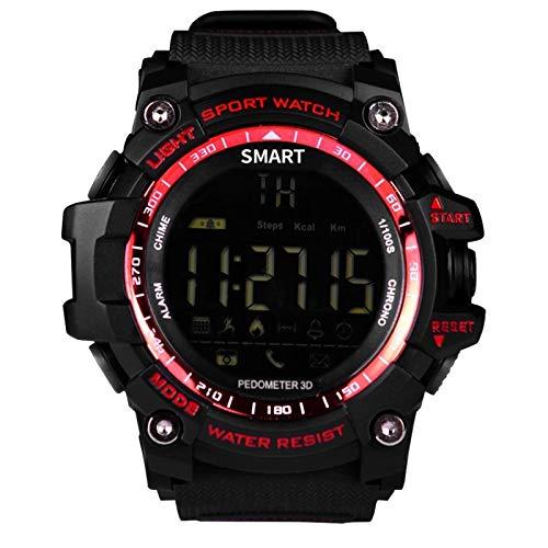 Brigmton BWATCH-G1 SmartWatch IP67, Rojo