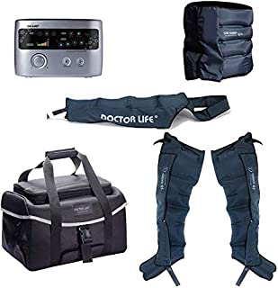 DSMAREF Recovery Compression System Full Package : Compression Pump, Recovery Boots, Arm Sleeve, Waist Sleeve, Carry Bag. (Boots Size : XXL)