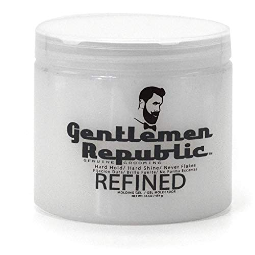 Gentlemen Republic 16oz Grooming Hard Hold & Shine...