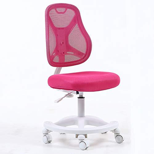 ZHEDYI Ergonomische stoel Hoog Elastisch kussen Student schrijfstoel, Correctief zitten kind leren bureaustoel kan worden verhoogd en verlaagd, Home Desk Computer stoel Anti-hump Bijziendheid