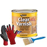 Nassboards, Clear Wood Varnish in Matt Finish – Low Solvent Varnish That Enhances Natural Qualities of Wood – Provides Long Lasting Protection from Heat and Scratches – Easy Application