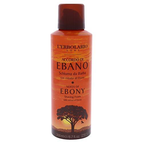 L'Erbolario Accordo di Ebano Rasierschaum, 200 ml