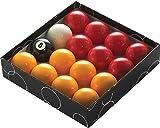 Powerglide rojo y amarillo estándar bolas de billar–todos los tamaños...