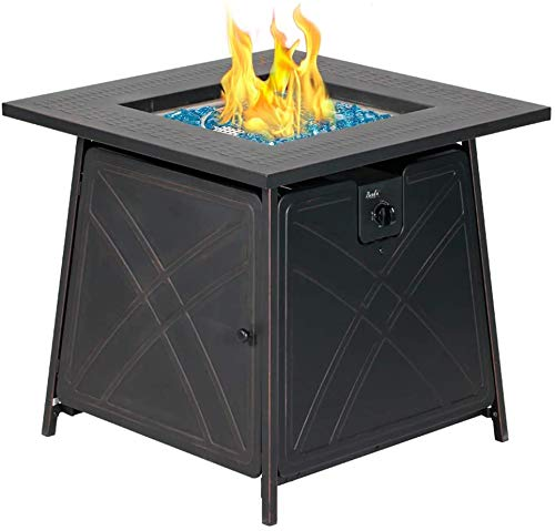 Outdoor Gas Fire Pit Table