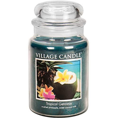 vela en tarro de la marca Village Candle